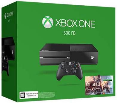 Игровая приставка Xbox One 500 ГБ + Battlefield 1