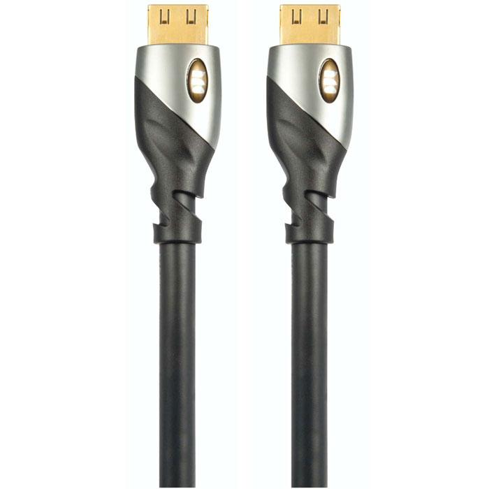 Monster UltraHD Platinum кабель HDMI 1,5 м140742-00Кабель HDMI Monster UltraHD Platinum гарантировано обеспечит передачу HD видео от любого источника с необходимой для этого скоростью. Кроме высокой пропускной способности, HDMI кабели серии Ultra HD Platinum являются прекрасным выбором для подключения компонентов вашей домашней мультимедиа системы. Они смогут передать все их тонкости и нюансы без потерь. Цифровое аудио Dolby DTS-HD и 8-14 битная цветопередача не исключение. Разъемы с патентованной конструкцией V-Grip - это уникальный дизайн, обеспечивающий максимально качественное соединение. Данная конструкция предотвращает случайное отключение кабеля. Позолоченные разъемы 24k прошли тестирование на 10 000 подключений и обеспечивают чистый сигнал без потерь. Кабель позволяет передавать интернет сигнал нескольким устройствам без необходимости использования дополнительных Ethernet-кабелей.