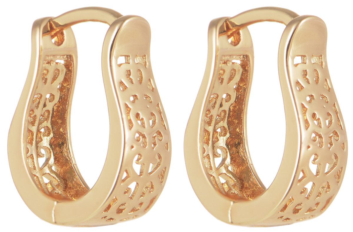 Серьги Taya, цвет: золотистый. T-B-11630T-B-11630-EARR-GOLDОригинальные серьги Taya выполнены из бижутерного сплава и оформлены интересным дизайном. Изделие оснащено практичным замком-конго. Серьги Taya блестяще подчеркнут ваш стиль и помогут внести разнообразие в привычный образ.