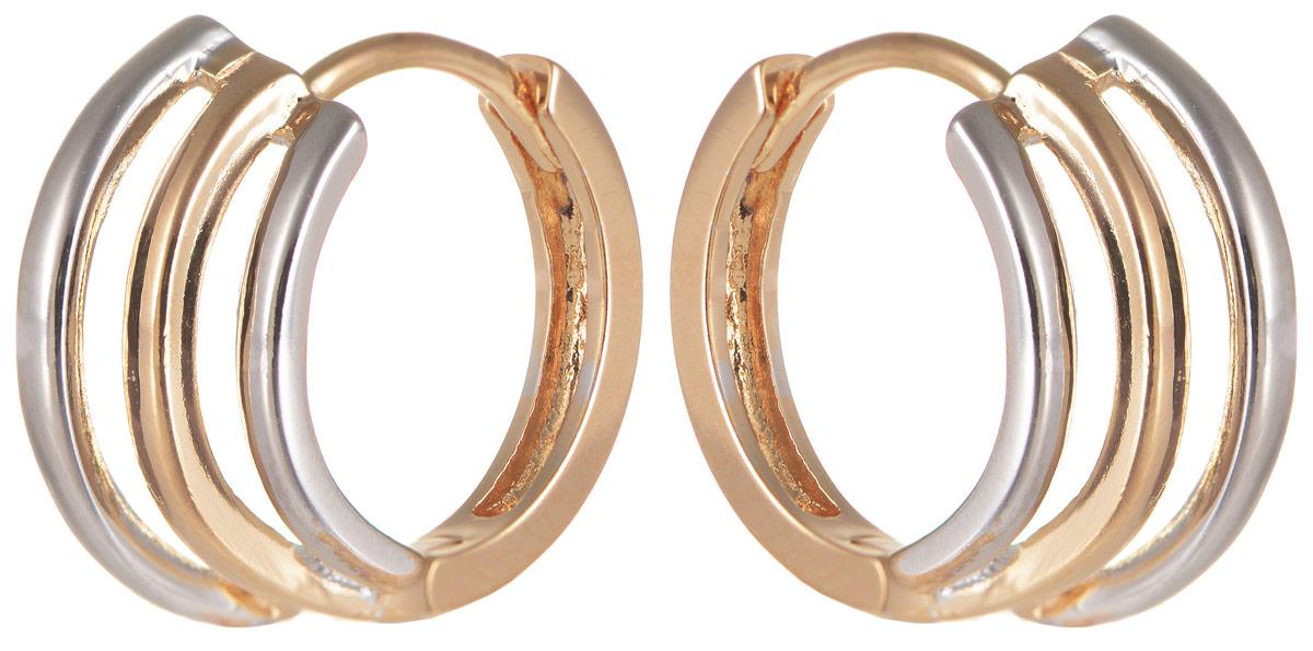 Серьги Taya, цвет: золотистый. T-B-11662T-B-11662-EARR-GOLDОригинальные серьги Taya выполнены из бижутерного сплава и оформлены оригинальным дизайном. Изделие оснащено практичным замком- конго. Серьги Taya блестяще подчеркнут ваш стиль и помогут внести разнообразие в привычный образ.