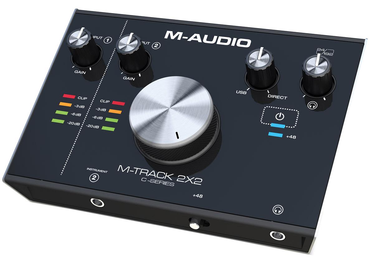 M-Audio M-Track 2X2, Black аудиоинтерфейс