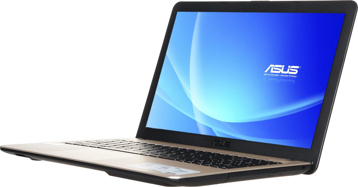 ASUS VivoBook X540LJ, Chocolate Black (90NB0B11-M03910)90NB0B11-M03910Asus VivoBook X540LJ - это современный ноутбук для ежедневного использования как дома, так и в офисе. Для быстрого обмена данными с периферийными устройствами VivoBook X540 предлагает высокоскоростной порт USB 3.1 (5 Гбит/с), выполненный в виде обратимого разъема Type-C. Его дополняют традиционные разъемы USB 2.0 и USB 3.0. В число доступных интерфейсов также входят HDMI и VGA, которые служат для подключения внешних мониторов или телевизоров, и разъем проводной сети RJ-45. Кроме того, у данной модели имеются оптический привод и кард-ридер формата SD/SDHC/SDXC. Благодаря эксклюзивной аудиотехнологии SonicMaster встроенная аудиосистема ноутбука может похвастать мощным басом, широким динамическим диапазоном и точным позиционированием звуков в пространстве. Кроме того, ее звучание можно гибко настроить в зависимости от предпочтений пользователя и окружающей обстановки. Для настройки звучания служит функция AudioWizard, предлагающая выбрать...
