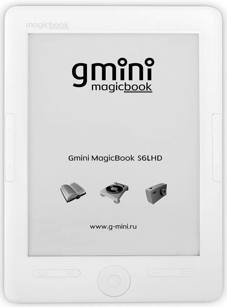Gmini MagicBook S6LHD, White электронная книга