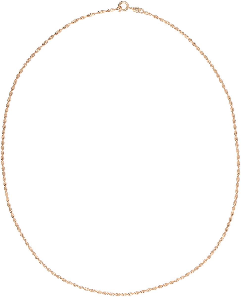 Цепочка Taya, цвет: золотистый. T-B-11724T-B-11724-NECK-GOLDЭлегантная цепочка от Taya изготовлена из качественного бижутерного сплава и выполнена в спиральной форме. Изделие застегивается на шпрингельный замок. Такая изящная цепочка идеально дополнит ваш образ и подчеркнет ваш изысканный вкус.