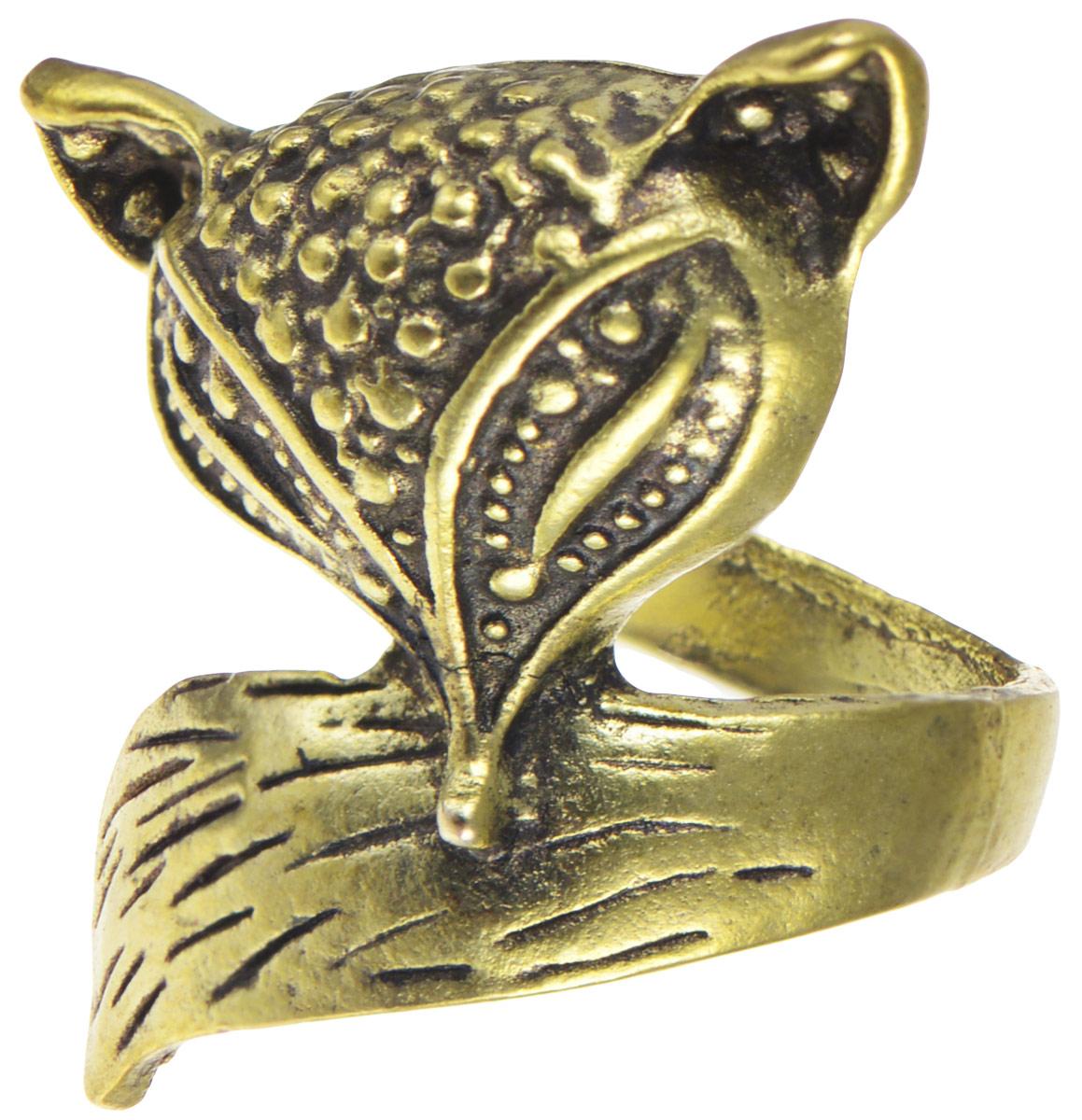 Кольцо YusliQ Лисичка. Ручная авторская работа. 26-00426-004Стильное кольцо YusliQ Лисичка выполнено из металла и оформлено в виде головы и хвоста лисы. Такое кольцо это блестящее завершение вашего неповторимого и смелого образа и отличный подарок для ценительницы необычных украшений!