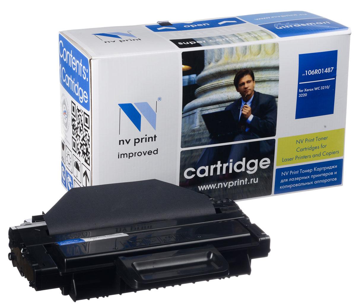 NV Print NV-106R01487, Black тонер-картридж для Xerox WC 3210/3220NV-106R01487Совместимый лазерный картридж NV Print NV-106R01487 для печатающих устройств Xerox - это альтернатива приобретению оригинальных расходных материалов. При этом качество печати остается высоким. Картридж обеспечивает повышенную чёткость чёрного текста и плавность переходов оттенков серого цвета и полутонов, позволяет отображать мельчайшие детали изображения. Лазерные принтеры, копировальные аппараты и МФУ являются более выгодными в печати, чем струйные устройства, так как лазерных картриджей хватает на значительно большее количество отпечатков, чем обычных. Для печати в данном случае используются не чернила, а тонер.