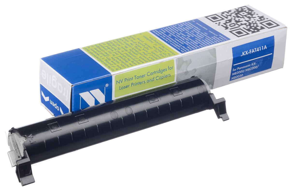 NV Print NV-KXFAT411А, Black тонер-картридж для Panasonic KX-MB2000/KX-MB2020/KX-MB2030NV-KXFAT411АСовместимый лазерный картридж NV Print NV-KXFAT411А для печатающих устройств Panasonic - это альтернатива приобретению оригинальных расходных материалов. При этом качество печати остается высоким. Картридж обеспечивает повышенную чёткость чёрного текста и плавность переходов оттенков серого цвета и полутонов, позволяет отображать мельчайшие детали изображения. Лазерные принтеры, копировальные аппараты и МФУ являются более выгодными в печати, чем струйные устройства, так как лазерных картриджей хватает на значительно большее количество отпечатков, чем обычных. Для печати в данном случае используются не чернила, а тонер.