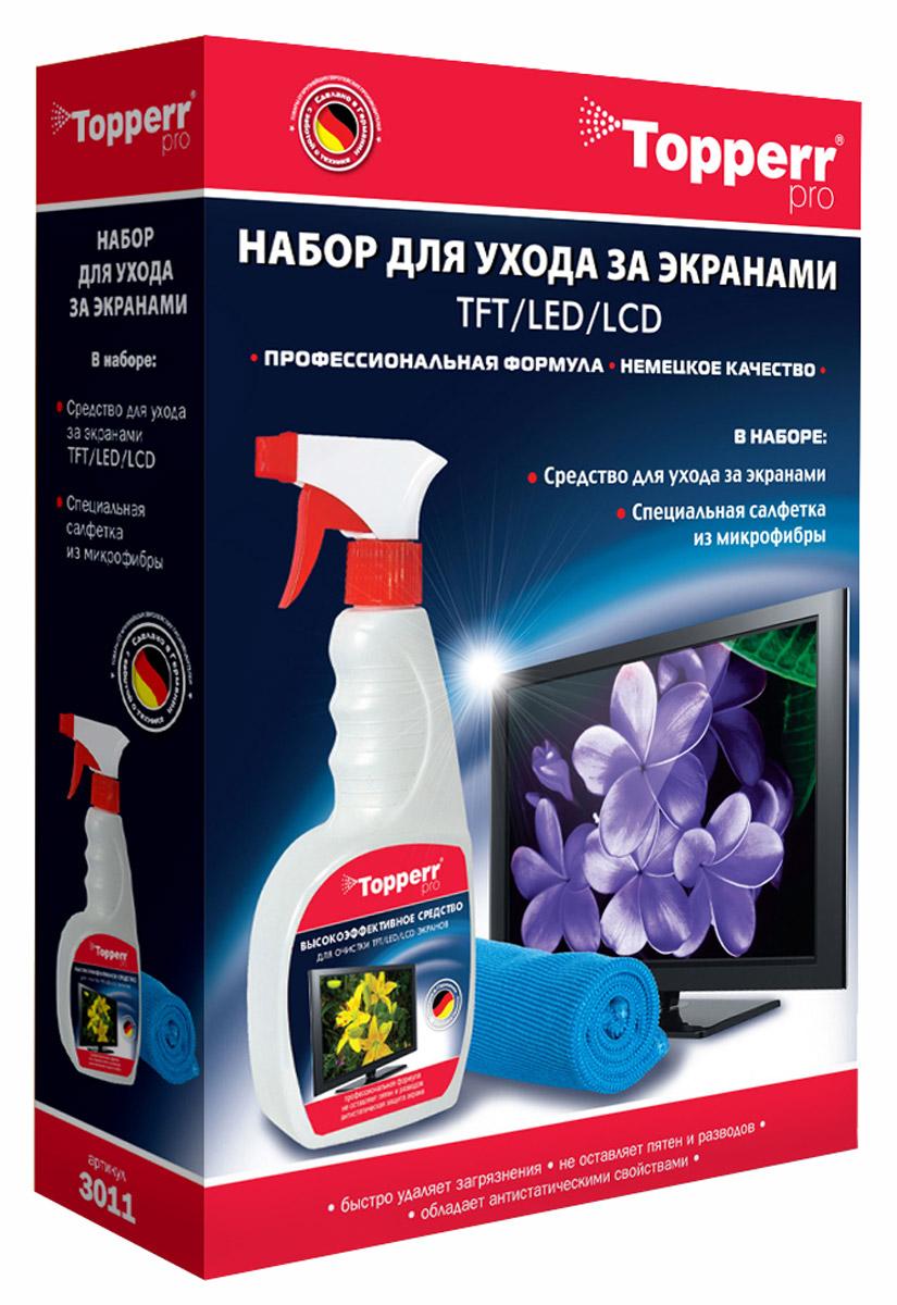 Topperr 3011 набор для чистки экранов