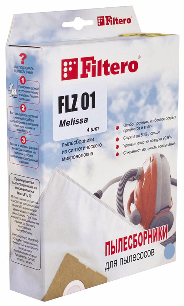 Filtero FLZ 01 Экстра пылесборник, 4 шт