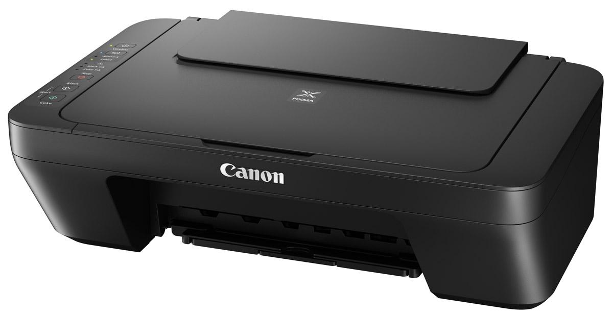 Canon Pixma MG3040, Black МФУ1346C007Canon Pixma MG3040 - универсальное МФУ для ежедневной печати, сканирования и копирования. Модель обеспечивает качественную печать различных документов - от объемных текстовых документов до семейных фотографий. Данная модель откроет перед вами удивительные возможности: быстрые и удобные функции беспроводной печати, сканирования и копирования. Компактный многофункциональный принтер с поддержкой Wi-Fi легко поместится у вас на рабочем столе и подойдет для печати любого типа документов: от объемных текстовых документов до семейных фотографий. Функция PIXMA Cloud Link в приложении Canon PRINT позволяет печатать документы и фотографии напрямую из популярных социальных сетей и облачных приложений, таких как Facebook, Instagram, Google Drive, Dropbox, OneDrive и многих других. МФУ поможет сэкономить на печати. Используйте дополнительно приобретаемые чернильные картриджи Canon XL и вы сможете сэкономить до 30% на стоимости каждого отпечатка по сравнению со...