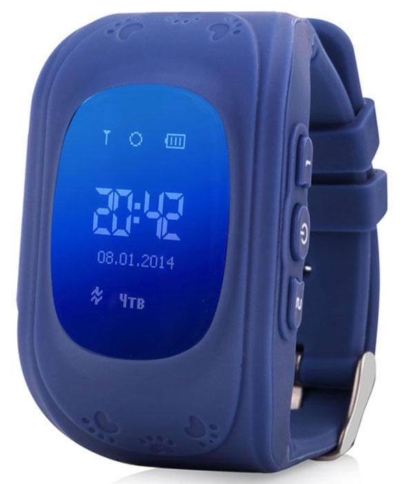 Wonlex Smart Baby Watch Q50, Deep Blue умные детские часы