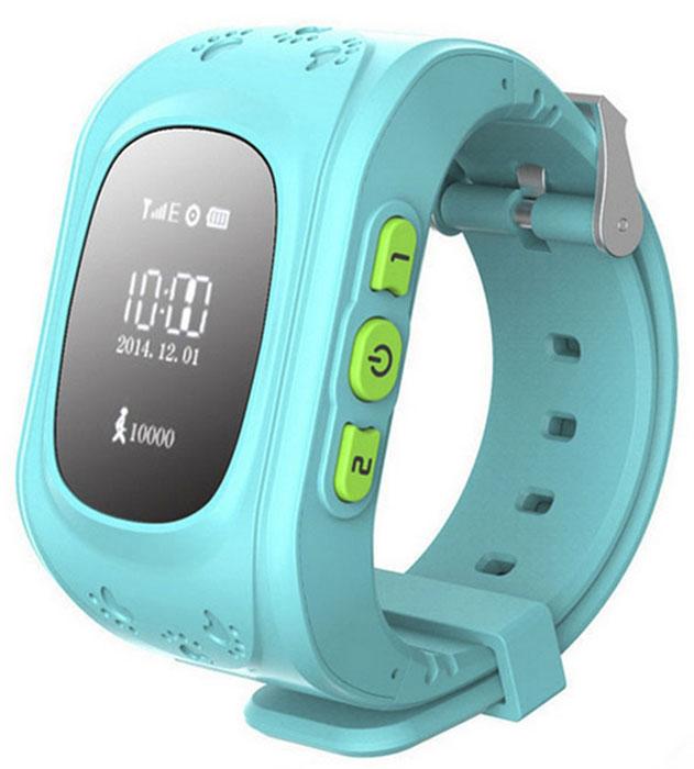 Wonlex Smart Baby Watch Q50, Light Blue умные детские часы