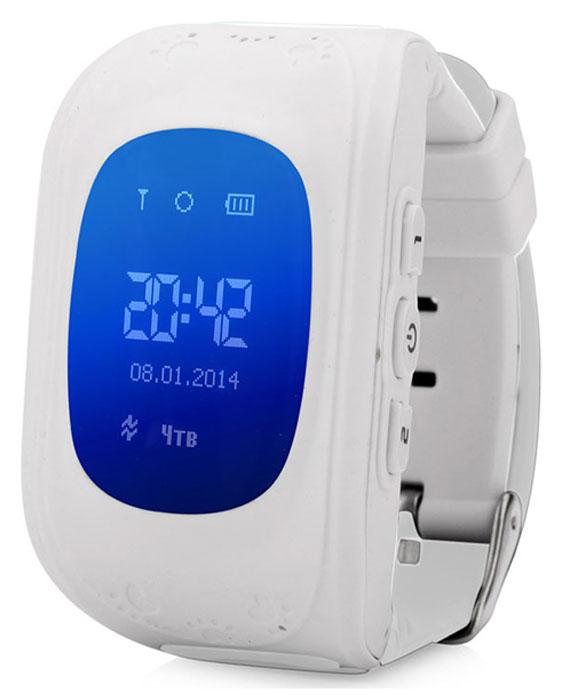 Wonlex Smart Baby Watch Q50, White умные детские часы