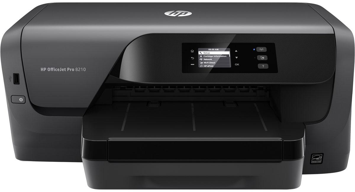 HP Officejet Pro 8210 принтер струйный (D9L63A)D9L63AСтруйный принтер HP Officejet Pro 8210 обеспечит профессиональное качество офисной цветной печати по доступной цене. Экономьте на затратах благодаря цветной печати профессионального качества по цене на 50 % ниже, чем при использовании лазерных принтеров. Дополнительные струйные картриджи HP увеличенной емкости позволяют печатать втрое больше страниц. Оцените профессиональное качество цветной и черно-белой печати, которая идеально подходит для создания отчетов, писем и других документов. Напечатанные материалы устойчивы к выцветанию, воздействию влаги и не смазываются при выделении маркером. Все что нужно для эффективной работы Благодаря поддержке двусторонней печати вы сможете быстрее справляться с заданиями. Выполняйте печать файлов Microsoft Word и PowerPoint, а также Adobe PDF напрямую с USB-накопителя. Устройство оснащено дисплеем с диагональю 5,08 см (2) и клавиатурой для удобного ввода данных и обеспечения эффективности работы. Оно...