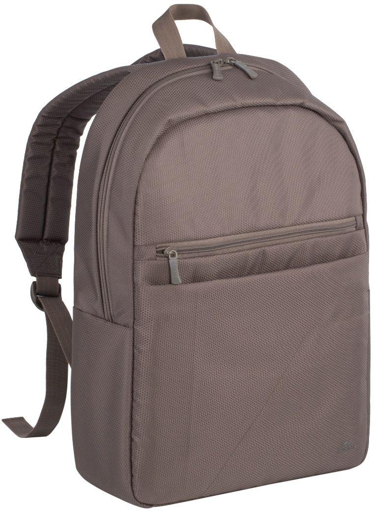 Riva 8065, Khaki рюкзак для ноутбука 15.66645Riva 8065 - это легкий, бюджетный рюкзак для ноутбуков до 15.6. Рюкзак выполнена из плотного синтетического материала и имеет утолщенные стенки для лучшей защиты ноутбука от случайных ударов и царапин, а также от пыли и влаги. Основное отделение для ноутбука с вертикальной загрузкой, имеет мягкие стенки и ремень для надежной фиксации ноутбука до 15.6. Также имеется дополнительное внутреннее отделение для планшета до 10.1. Есть два внешних передних кармана: один на молнии, второй на липучке предназначены для хранения аксессуаров, смартфона. Двойная застежка молния для удобного доступа к устройству. Удобная ручка для переноски и наплечные ремни со смягчающими подкладками помогут чувствовать себя комфортно в самом долгом путешествии.
