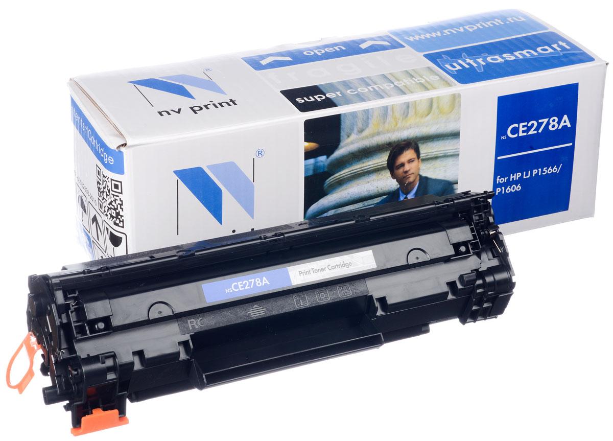 NV Print NV-CE278A/Canon728, Black тонер-картридж для HP LaserJet Р1566/Р1606W/M1536dnf MFP/Canon MF4580dn/4570dn/4550dn/4450/4430/4410NV-CE278A/Canon728Совместимый лазерный картридж NV Print NV-CE278A/Canon728 для печатающих устройств HP LaserJet и Canon - это альтернатива приобретению оригинальных расходных материалов. При этом качество печати остается высоким. Картридж обеспечивает повышенную чёткость чёрного текста и плавность переходов оттенков серого цвета и полутонов, позволяет отображать мельчайшие детали изображения. Лазерные принтеры, копировальные аппараты и МФУ являются более выгодными в печати, чем струйные устройства, так как лазерных картриджей хватает на значительно большее количество отпечатков, чем обычных. Для печати в данном случае используются не чернила, а тонер.