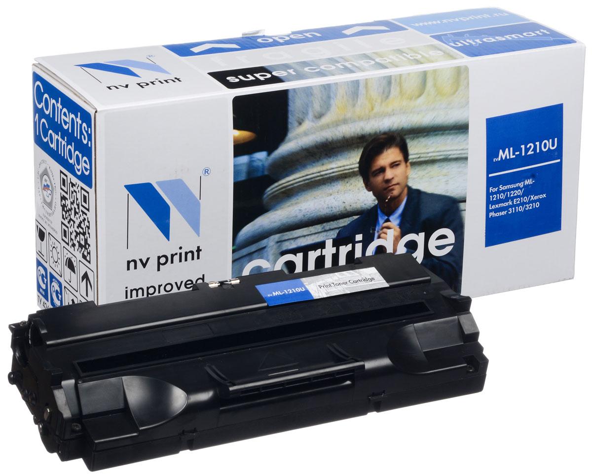 NV Print NV-ML1210UNIV, Black �����-�������� ��� Samsung ML-1010/1020/1210/1220M/1250/1430/4500/4600/808/MSYS-5100P/SF- 5100/5100P