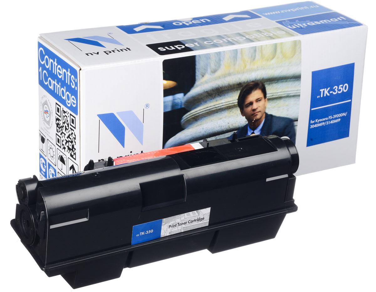 NV Print TK-350, Black тонер-картридж для Kyocera FS-3920DN/3040/3140MFP/3040MFP+/ 3140MFP+/3540MFP/3640MFP new original kyocera fuser 302j193050 fk 350 e for fs 3920dn 4020dn 3040mfp 3140mfp