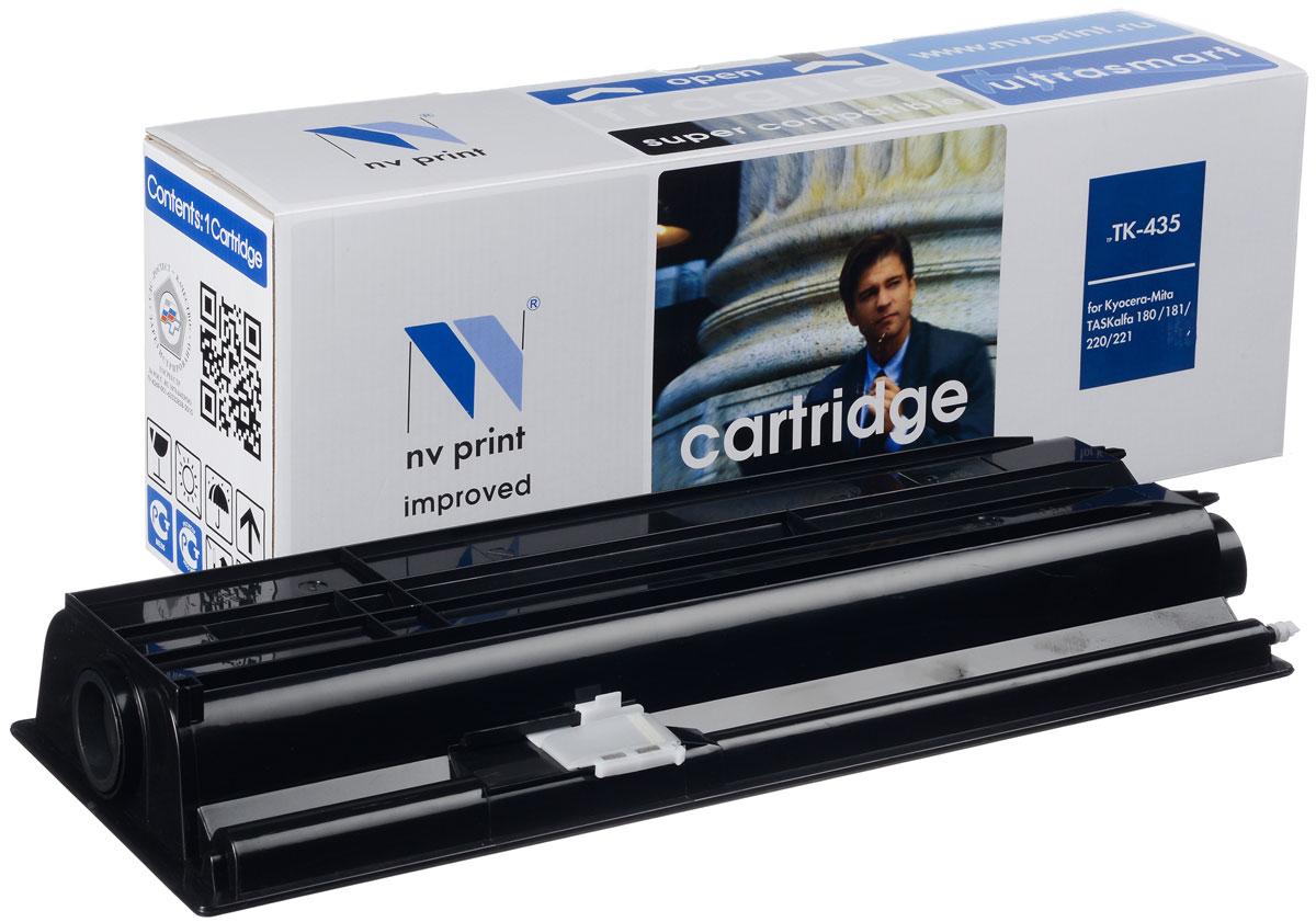 NV Print TK-435, Black тонер-картридж для Kyocera Mita KM TASKalfa 180/181/220/221TK-435Совместимый лазерный картридж NV Print для печатающих устройств Kyocera - это альтернатива приобретению оригинальных расходных материалов. При этом качество печати остается высоким. Картридж обеспечивает повышенную чёткость чёрного текста и плавность переходов оттенков серого цвета и полутонов, позволяет отображать мельчайшие детали изображения. Лазерные принтеры, копировальные аппараты и МФУ являются более выгодными в печати, чем струйные устройства, так как лазерных картриджей хватает на значительно большее количество отпечатков, чем обычных. Для печати в данном случае используются не чернила, а тонер.