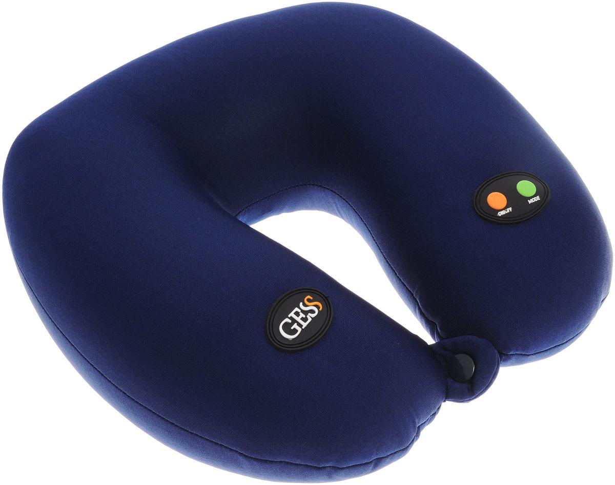 Gess u Neck Массажная подушка. GESS-302GESS-302Массажная подушка Gess u Neck является незаменимым устройством для путешественников. Она помогает поддерживать физиологически правильное положение шеи и головы. Вы можете расслабиться, находясь в сидячем положении и даже спать сидя с помощью этой подушки. Подушка обладает эргономичным дизайном, идеально соответствующим анатомии шейно-плечевого отдела. Расслабляет затекшие мышцы, снимает болевые ощущения, улучшает циркуляцию крови. Подушка оснащена массажных механизмом, который расположен внутри и находится в свободном положении, что позволяет использовать массажер людям разного роста и комплекции. Всего у подушки 6 режимов массажа: 1 - непрерывный мягкий массаж 2 - непрерывный сильный массаж 3 - сильный прерывистый массаж (более 70 пульсаций в минуту) 4- переменный мягкий и сильный массаж (более 60 пульсаций в минуту) 5 - чередование режимов 1,2,3,4. Длительность каждого массажа около 3 секунд 6 - чередование режимов 1,2,3,4,5....
