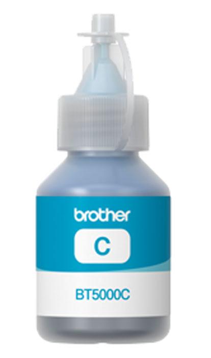 Brother BT-5000C, Cyan чернила для DCP-T300/DCP-T500W/DCP-T700WBT5000CЧернила Brother BT5000 совместимы с моделями МФУ DCP-T300 / DCP-T500W / DCP-T700W. Струйные картриджи Brother сконструированы таким образом, чтобы идеально работать с МФУ, что дает отличные результаты и экономию средств.