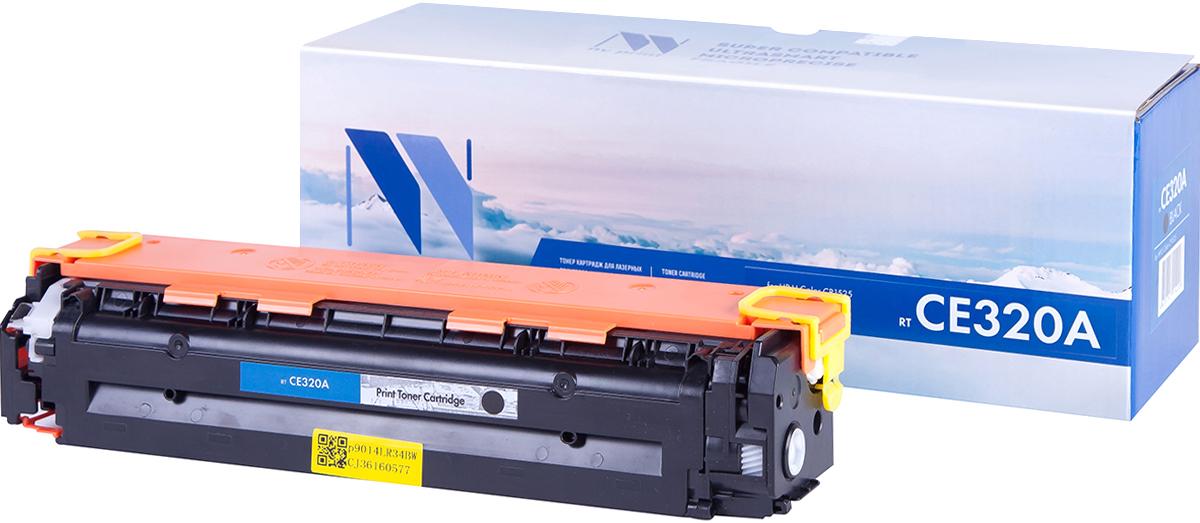 NV Print CE320ABk, Black тонер-картридж для HP Color LaserJet PRO CP1525N/CP1525NWNV-CE320ABkСовместимый лазерный картридж NV Print CE320ABk для печатающих устройств HP - это альтернатива приобретению оригинальных расходных материалов. При этом качество печати остается высоким. Картридж обеспечивает повышенную чёткость чёрного текста и плавность переходов оттенков серого цвета и полутонов, позволяет отображать мельчайшие детали изображения. Лазерные принтеры, копировальные аппараты и МФУ являются более выгодными в печати, чем струйные устройства, так как лазерных картриджей хватает на значительно большее количество отпечатков, чем обычных. Для печати в данном случае используются не чернила, а тонер.