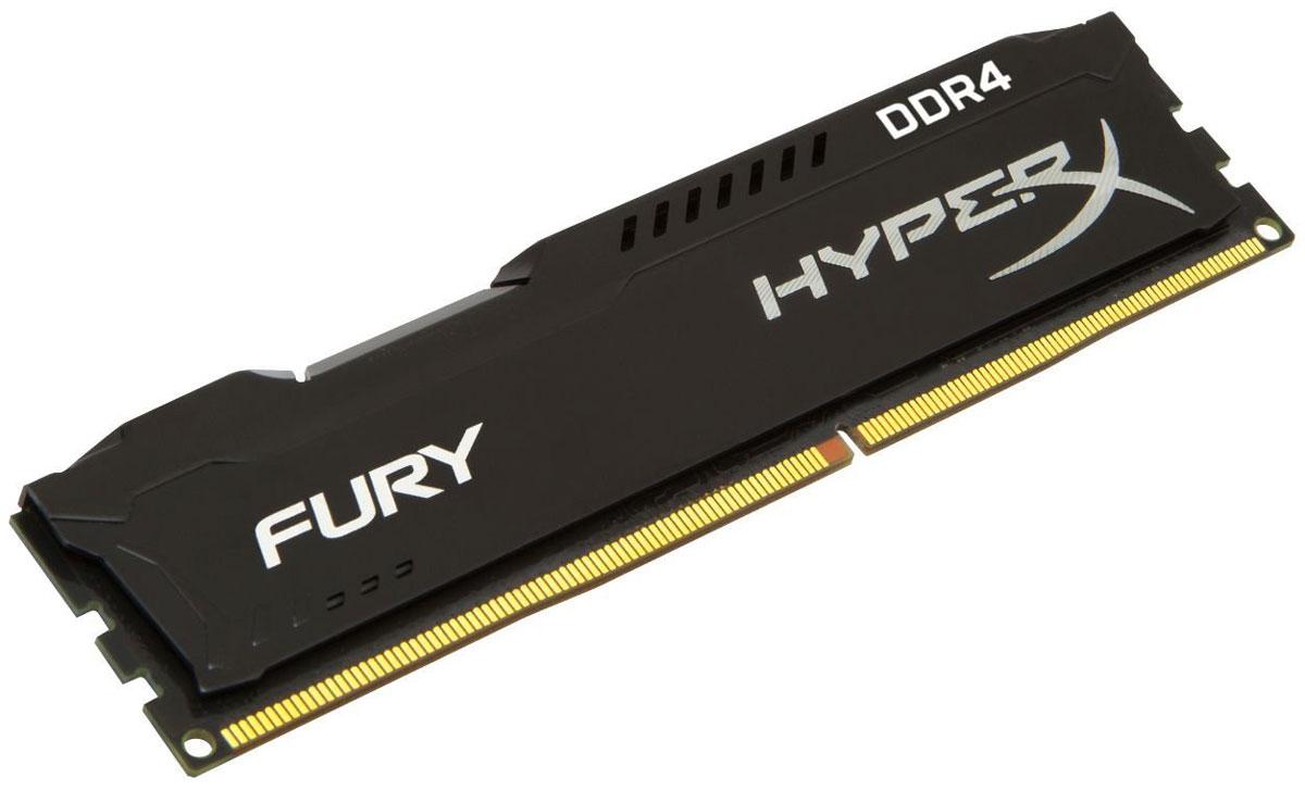 Kingston HyperX Fury DDR4 DIMM 4GB 2400МГц модуль оперативной памяти (HX424C15FB/4)HX424C15FB/4Модуль памяти HyperX FURY DDR4 автоматически разгоняется до максимальной заявленной частоты и обеспечивает максимальную производительность для системных плат с чипсетами Intel серии 100 и X99. Это недорогое решение для использования с 2-, 4-, 6- и 8-ядерными процессорами Intel повышает скорость редактирования видео, 3D-рендеринга, компьютерных игр и AI-процессинга. Его стильный низкопрофильный теплоотвод с характерным дизайном FURY сразу подчеркнет оригинальный внешний вид вашей системы. HyperX FURY DDR4 - это первая линейка продукции, предлагающая автоматический разгон до максимальной заявленной частоты. Получите максимальную скорость без необходимости ручной настройки. Низкое энергопотребление HyperX FURY DDR4 обеспечивает пониженное выделение тепла и высокую надежность. Благодаря низкому напряжению (1,2 В), снижается потребление энергии, что обеспечивает отсутствие нагрева и бесшумную работу ПК. Выделитесь из толпы и придайте своей...