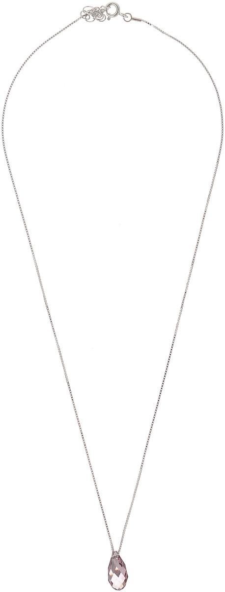 Кулон женский Vera Victoria Vito, цвет: серебряный, фиолетовый. YC0104A12GYC0104A12GИзумительный кулон Vera Victoria Vito идеально дополнит ваш образ. Изделие выполнено из серебра и дополнено подвеской-каплей с кристаллами Swarovski. Цепочка застегивается на надежную шпренгельную- застежку и регулируется по длине с помощью дополнительных звеньев. Такой изысканный аксессуар идеально завершит ваш образ и подчеркнет вашу индивидуальность.