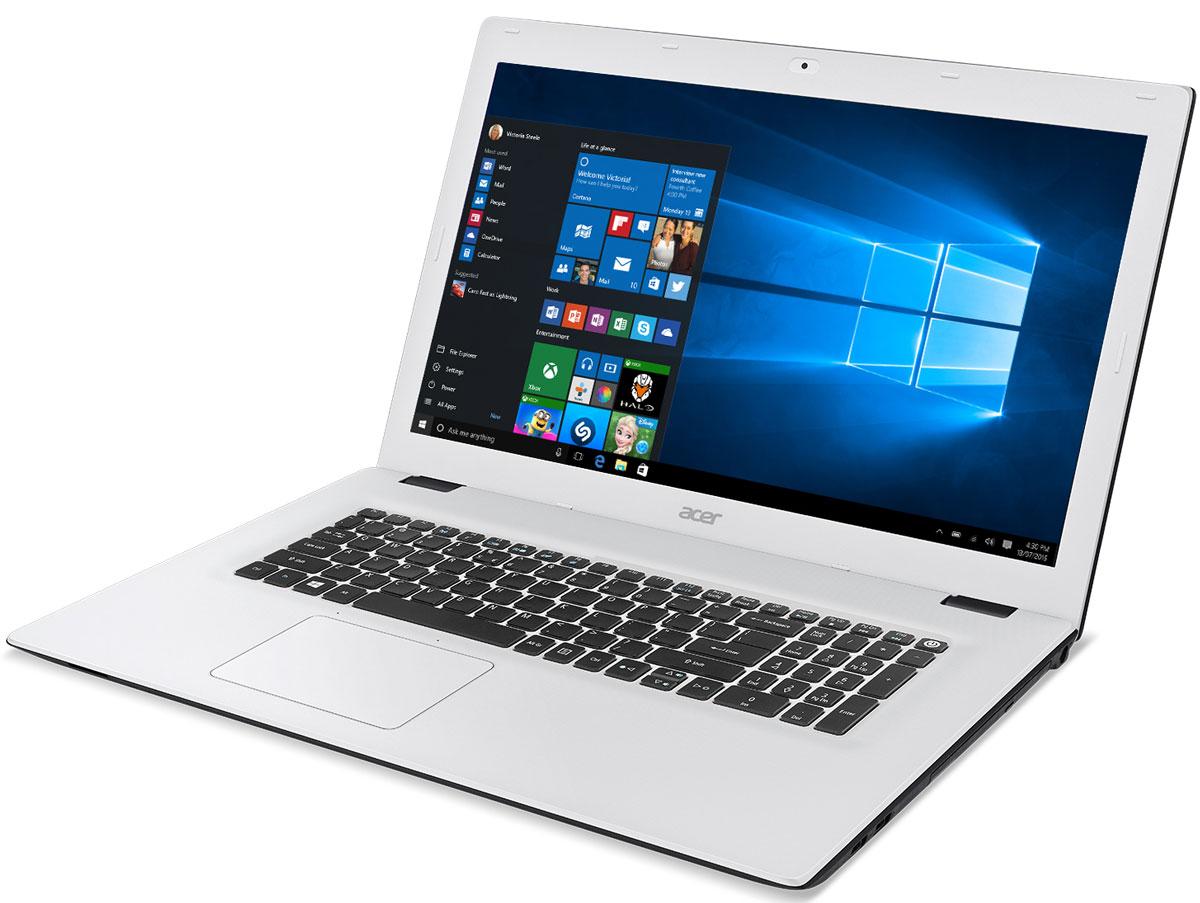Acer Aspire E5-772G-38UY, Black White (NX.MVCER.005)NX.MVCER.005Лаконичный дизайн и текстурированная поверхность делают ноутбук Acer Aspire E5-772G красивым и приятным на ощупь. Цветные штрихи по краям панелей подчеркивают стильный внешний вид всей серии, а продуманный дизайн стыка поверхностей для открытия ноутбука отлично смотрится и позволяет надежно зафиксировать экран. Благодаря обновленным и настроенным параметрам для воспроизведения мультимедийных материалов, вы насладитесь высоким качеством звука и видео. Технология Acer TrueHarmony предлагает более реалистичные и насыщенные звуковые эффекты, а компоненты, сертифицированные Skype, обеспечивают надежную и мгновенную связь, а также непрерывное, четкое и плавное воспроизведение аудио и видео без эха. Ноутбук Acer Aspire E5-772G обладает дополнительными возможностями для решения любых задач. Было улучшено беспроводное соединение, увеличена точность определения прикосновений тачпада и установлены более быстрые и большие по объему жесткие диски. Экран...
