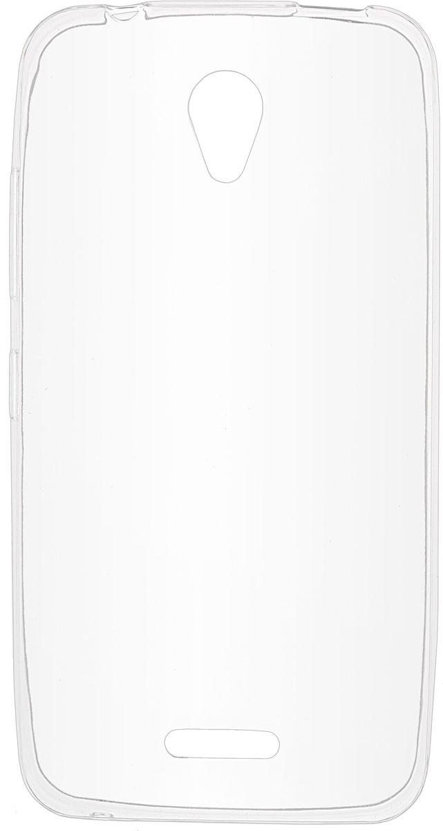 Skinbox Slim Silicone чехол для Lenovo A1010/A2016, Transparent