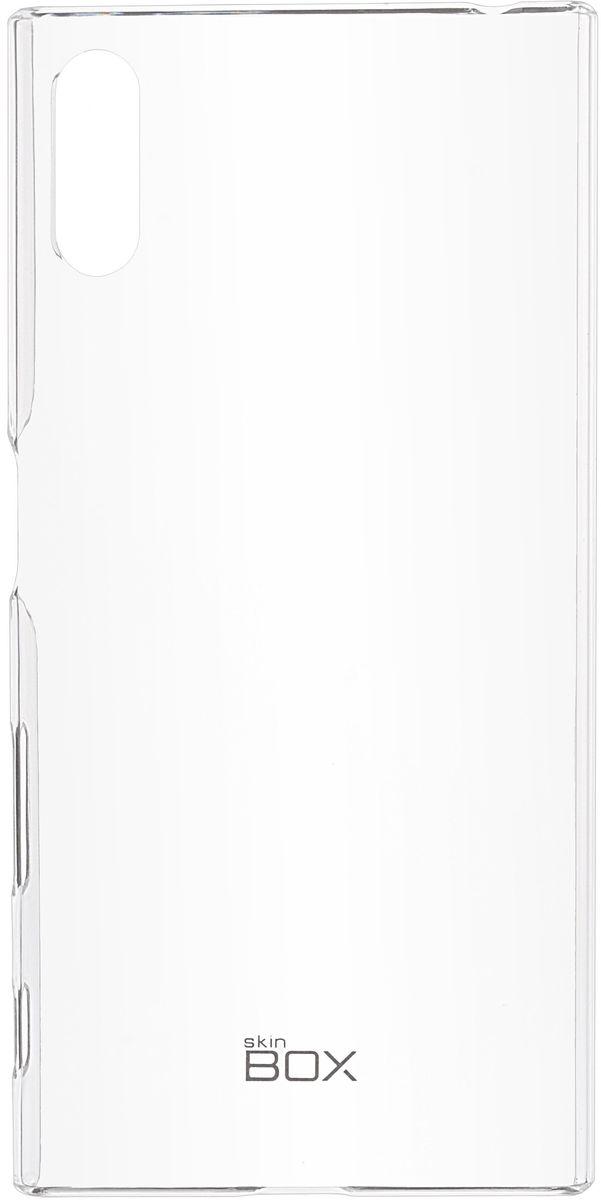 Skinbox Crystal 4People чехол для Sony Xperia XZ, Transparent2000000102702Чехол Skinbox Crystal 4People для Sony Xperia XZ надежно защитит ваш смартфон от внешних воздействий, грязи, пыли, брызг. Он также поможет при ударах и падениях, не позволив образоваться на корпусе царапинам и потертостям. Чехол обеспечивает свободный доступ ко всем функциональным кнопкам смартфона и камере.
