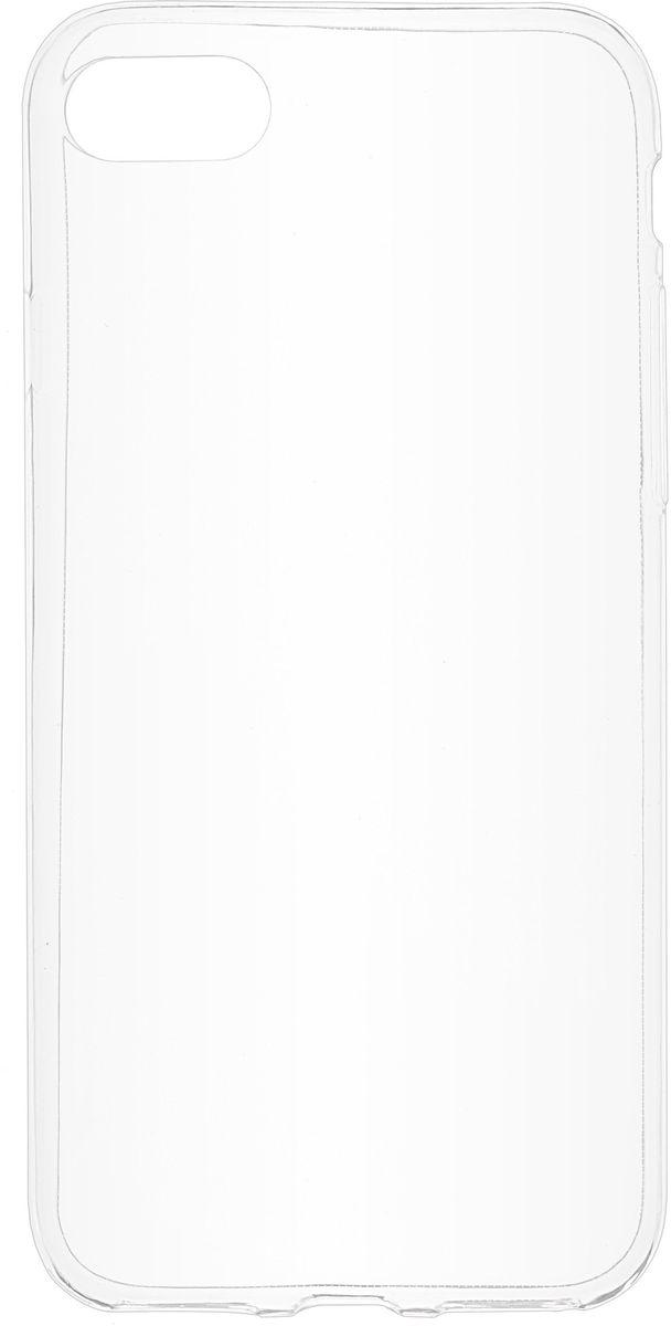 Skinbox Slim Silicone чехол для Apple iPhone 7, Transparent2000000104454Чехол-накладка Skinbox Slim Silicone для Apple iPhone 7 надежно защитит ваш смартфон от внешних воздействий, грязи, пыли, брызг. Он также поможет при ударах и падениях, не позволив образоваться на корпусе царапинам и потертостям. Чехол обеспечивает свободный доступ ко всем функциональным кнопкам, разъёмам и камере смартфона.