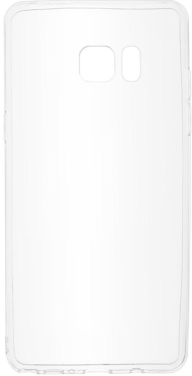 Skinbox Slim Silicone чехол для Samsung Galaxy Note 7, Transparent2000000102672Чехол Skinbox для Samsung Galaxy Note 7 надежно защищает ваш смартфон от внешних воздействий, грязи, пыли, брызг. Он также поможет при ударах и падениях, не позволив образоваться на корпусе царапинам и потертостям. Чехол обеспечивает свободный доступ ко всем функциональным кнопкам смартфона и камере. Чехол Skinbox - это стильная и элегантная деталь вашего образа, которая всегда обращает на себя внимание среди множества вещей.