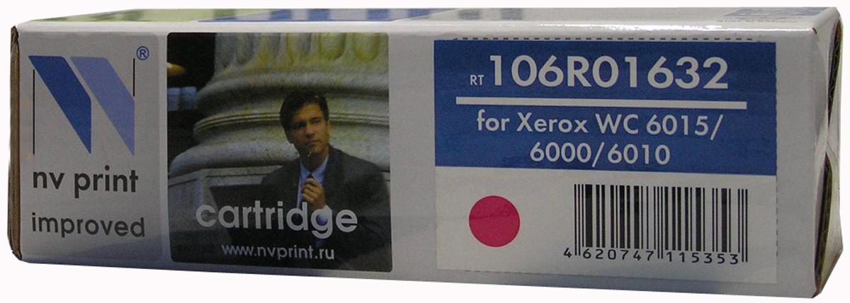 NV Print 106R01632M, Magenta тонер-картридж для Xerox Phaser 6000/6010NV-106R01632MСовместимый лазерный картридж NV Print 106R01632M для печатающих устройств Xerox - это альтернатива приобретению оригинальных расходных материалов. При этом качество печати остается высоким. Картридж обеспечивает повышенную чёткость и плавность переходов оттенков цвета и полутонов, позволяет отображать мельчайшие детали изображения. Лазерные принтеры, копировальные аппараты и МФУ являются более выгодными в печати, чем струйные устройства, так как лазерных картриджей хватает на значительно большее количество отпечатков, чем обычных. Для печати в данном случае используются не чернила, а тонер.