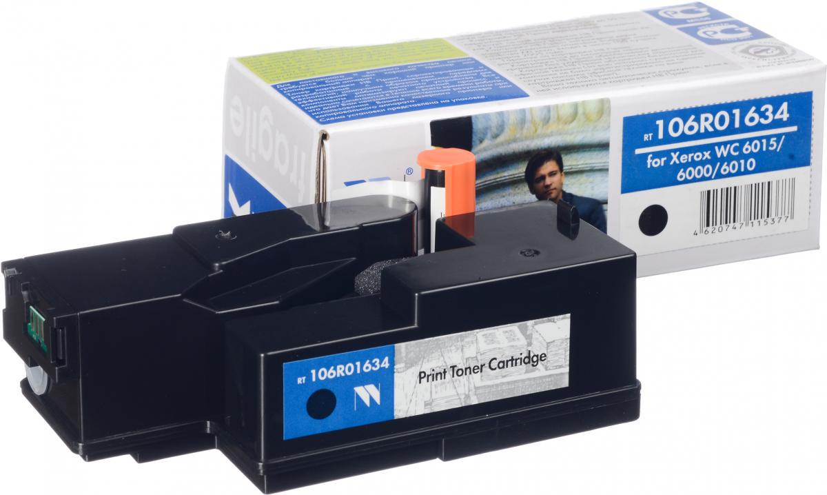 NV Print 106R01634Bk, Black тонер-картридж для Xerox Phaser 6000/6010NV-106R01634BkСовместимый лазерный картридж NV Print 106R01634Bk для печатающих устройств Xerox - это альтернатива приобретению оригинальных расходных материалов. При этом качество печати остается высоким. Картридж обеспечивает повышенную чёткость чёрного текста и плавность переходов оттенков серого цвета и полутонов, позволяет отображать мельчайшие детали изображения. Лазерные принтеры, копировальные аппараты и МФУ являются более выгодными в печати, чем струйные устройства, так как лазерных картриджей хватает на значительно большее количество отпечатков, чем обычных. Для печати в данном случае используются не чернила, а тонер.