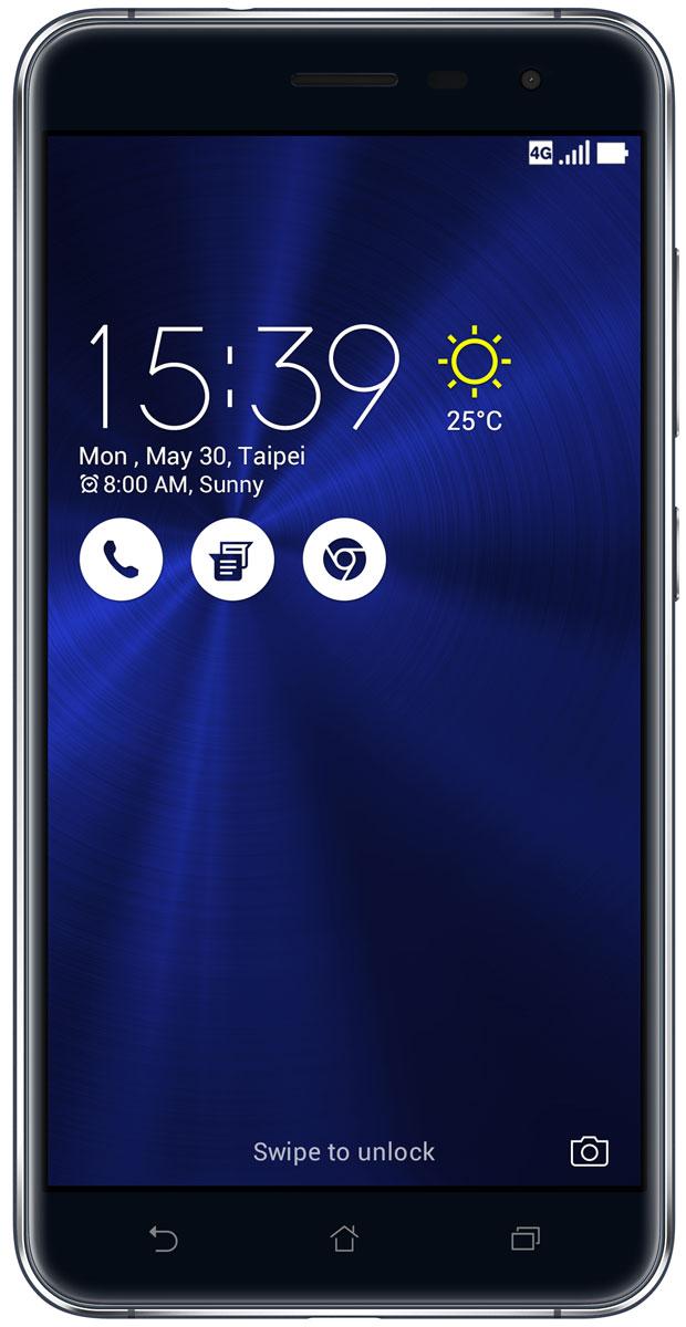 ASUS ZenFone 3 ZE552KL, Sapphire Black (90AZ0121-M01140)90AZ0121-M01140ZenFone 3 - это современный смартфон с оригинальным дизайном и высококачественной камерой, который станет вашу жизнь чуть более необычной. Современный смартфон, отделанный с обеих сторон защитным стеклом безупречно выверенной формы. Тонкий корпус, который идеально ложится в ладонь. Оригинальный узор из концентрических окружностей, украшающий заднюю панель и выгравированный на кнопках, как отражение философской гармонии Дзен. Вы хотите получить совершенно новые впечатления от своего нового смартфона? Просто взгляните и прикоснитесь к ZenFone 3. ZenFone 3 - это синоним тонкой работы. Заключенный в корпус из высокопрочного стекла Corning Gorilla Glass со скругленными кромками, данный смартфон имеет толщину всего 7,69 мм. Красоту его изысканного дизайна подчеркивают акценты на боковых гранях, выполненные методом алмазной резки. Это шедевр современного инженерного искусства, которым вы никогда не устанете наслаждаться. ZenFone 3 оснащается...