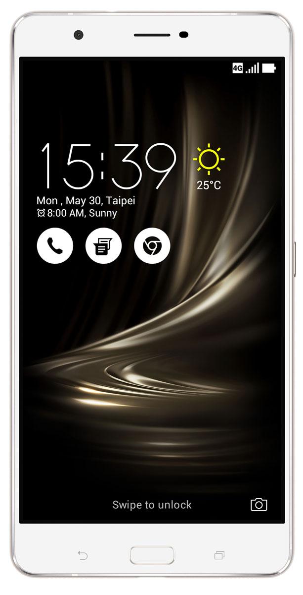 ASUS ZenFone 3 Ultra ZU680KL, Silver (90AK0012-M00370)90AK0012-M00370Вселенная невероятного — вокруг вас. Погрузитесь в мир ярких красок и чарующего звука, мир, неотличимый от реальности. Раскройте несравненные возможности непревзойденного ZenFone 3 Ultra. Используя в качестве основы корпуса смартфона металл, производители вынуждены идти на компромисс: применение компактных внутренних антенн было возможным только в сочетании со специальными пластиковыми вставками, необходимыми для прохождения радиосигнала. Но инженеры компании ASUS смогли справиться с этой проблемой: новый ZenFone 3 Ultra обладает стильным, полностью металлическим корпусом без диэлектрических вставок на задней крышке, изящество которого подчеркивается эффектными гранями, выполненными с помощью алмазной резки. ZenFone 3 Ultra – это чудо современных технологий, которое рождается в результате сложного производственного процесса, включающего в себя 240 этапов. Прецизионная фрезеровка заготовки для получения прочного и при этом тонкого корпуса,...