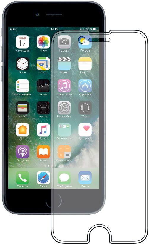Deppa защитное стекло для Apple iPhone 7, Clear62031Защитное стекло Deppa для смартфона Apple iPhone 7 изготовлено из специально обработанного многослойного закаленного стекла прочности 9H. Клеевой слой на задней поверхности позволяет легко устанавливать закаленное стекло без особых навыков. Олеофобное покрытие предотвратит появление следов от пальцев и сохранит чувствительность сенсора смартфона. Защитное стекло Deppa максимально защитит экран от царапин, повреждений, влаги и ударов.