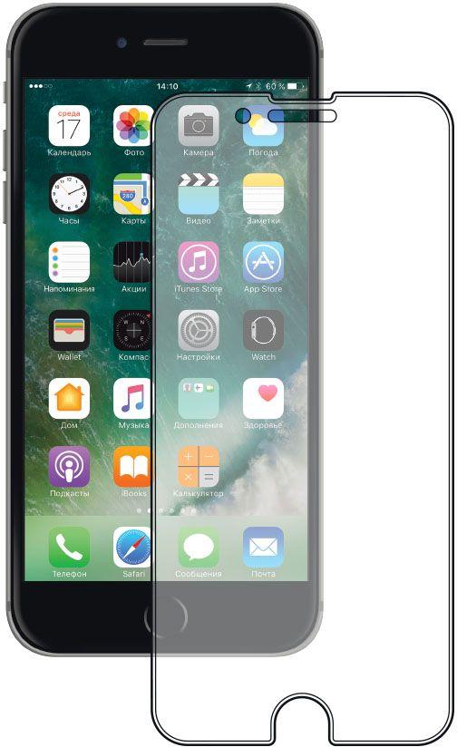 Deppa защитное стекло для Apple iPhone 7 Plus, Clear защитные стекла deppa защитное стекло для apple iphone 6 plus