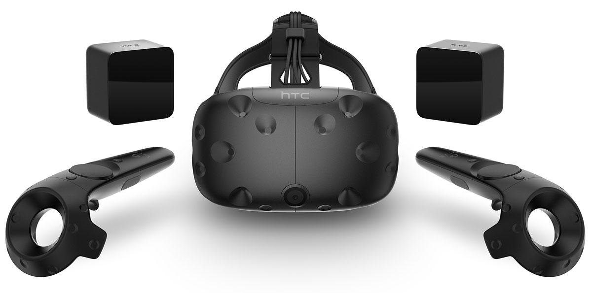 HTC Vive шлем виртуальной реальности99HAHZ061-00Vive является совместной разработкой компаний HTC и Valve. Система Vive - это самая лучшая и передовая реализация возможностей виртуального мира. Она создана на платформе Steam VR и поддерживает технологию SteamVR Tracking 1.0 и систему навигации Chaperone. Vive - это не только шлем, это первая в своем роде система виртуальной реальности. Наденьте шлем и мгновенно и полностью - визуально, физически и эмоционально - перенеситесь в мир, наполненный впечатляющими персонажами и новыми мирами. Стоит только надеть шлем Vive, как вы сразу попадете в мир, полный сюрпризов. Свободно двигайтесь и исследуйте пространство вокруг себя - безопасное перемещение в игровой среде обеспечивается интегрированной интуитивно понятной системой Chaperone. Потрясающая графика отвечает за ощущения реальности и, одновременно, нереальности, происходящего. Сверхточная обратная связь и привычные жесты гарантируют интуитивно понятное взаимодействие с виртуальным...