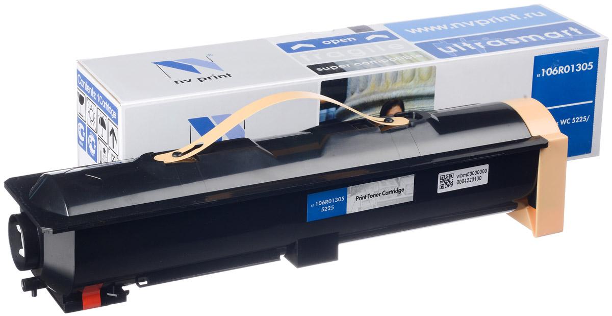 NV Print 106R01305, Black тонер-картридж для Xerox WCP 5225/5230NV-106R01305Совместимый лазерный картридж NV Print 106R01305 для печатающих устройств Xerox - это альтернатива приобретению оригинальных расходных материалов. При этом качество печати остается высоким. Картридж обеспечивает повышенную чёткость чёрного текста и плавность переходов оттенков серого цвета и полутонов, позволяет отображать мельчайшие детали изображения. Лазерные принтеры, копировальные аппараты и МФУ являются более выгодными в печати, чем струйные устройства, так как лазерных картриджей хватает на значительно большее количество отпечатков, чем обычных. Для печати в данном случае используются не чернила, а тонер.