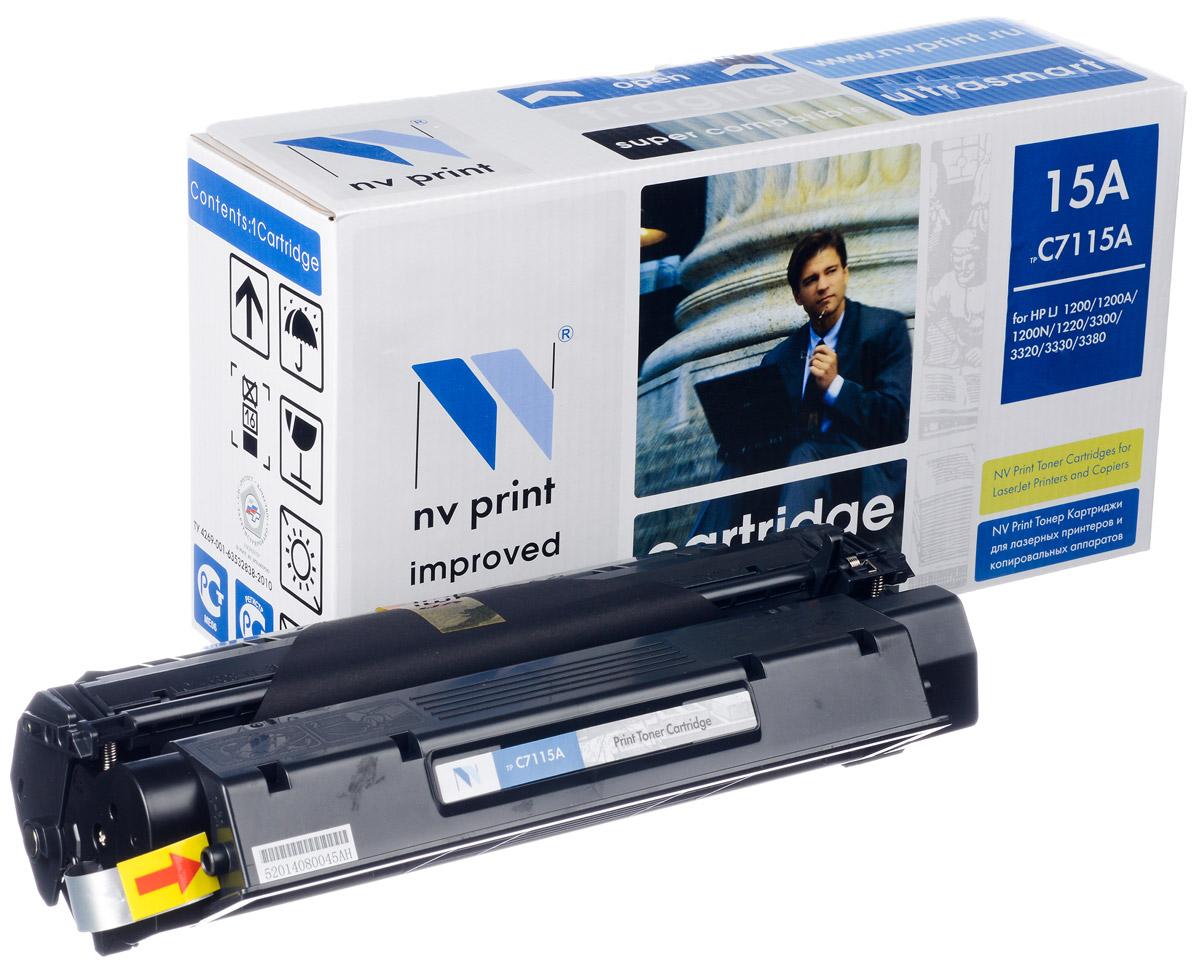 NV Print C7115A/2624A/2613A, Black тонер-картридж для HP LaserJet 1000/1200/1150/1300NV-C7115A/2624A/2613AСовместимый лазерный картридж NV Print C7115A/2624A/2613A для печатающих устройств HP - это альтернатива приобретению оригинальных расходных материалов. При этом качество печати остается высоким. Картридж обеспечивает повышенную чёткость чёрного текста и плавность переходов оттенков серого цвета и полутонов, позволяет отображать мельчайшие детали изображения. Лазерные принтеры, копировальные аппараты и МФУ являются более выгодными в печати, чем струйные устройства, так как лазерных картриджей хватает на значительно большее количество отпечатков, чем обычных. Для печати в данном случае используются не чернила, а тонер.