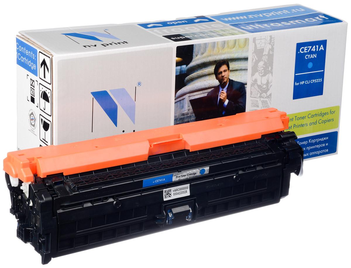 NV Print CE741AC, Cyan тонер-картридж для HP Color LaserJet CP5220NV-CE741ACСовместимый лазерный картридж NV Print CE741AC для печатающих устройств HP - это альтернатива приобретению оригинальных расходных материалов. При этом качество печати остается высоким. Картридж обеспечивает повышенную четкость изображения и плавность переходов оттенков и полутонов, позволяют отображать мельчайшие детали изображения. Лазерные принтеры, копировальные аппараты и МФУ являются более выгодными в печати, чем струйные устройства, так как лазерных картриджей хватает на значительно большее количество отпечатков, чем обычных. Для печати в данном случае используются не чернила, а тонер.