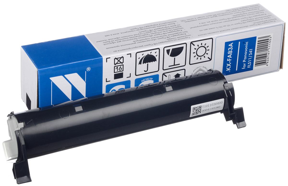 NV Print KX-FA83A/E, Black тонер-картридж для Panasonic KX-FL511/ 512/513RU/ 541/543RU/M513RU/ 543RU/M653RU/663RUNV-KXFA83A/EСовместимый лазерный картридж NV Print KX-FA83A/E для печатающих устройств Panasonic - это альтернатива приобретению оригинальных расходных материалов. При этом качество печати остается высоким. Картридж обеспечивает повышенную чёткость чёрного текста и плавность переходов оттенков серого цвета и полутонов, позволяет отображать мельчайшие детали изображения. Лазерные принтеры, копировальные аппараты и МФУ являются более выгодными в печати, чем струйные устройства, так как лазерных картриджей хватает на значительно большее количество отпечатков, чем обычных. Для печати в данном случае используются не чернила, а тонер.