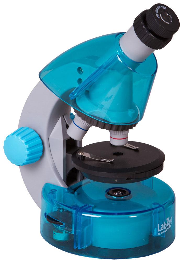 Levenhuk LabZZ M101, Azure микроскоп XSP-1508 Pantone#306C Azure