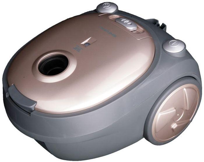 Shivaki SVC-1438GLD, Beige пылесосSVC-1438GLDПылесос Shivaki SVC-1438GLD мощностью 1400Вт и c мешком для сбора пыли. Прибор имеет 4-х ступенчатую систему фильтрации и обеспечит деликатную и тщательную уборку. Пылесос оснащен регулятором мощности на корпусе, с возможностью вертикальной парковки.