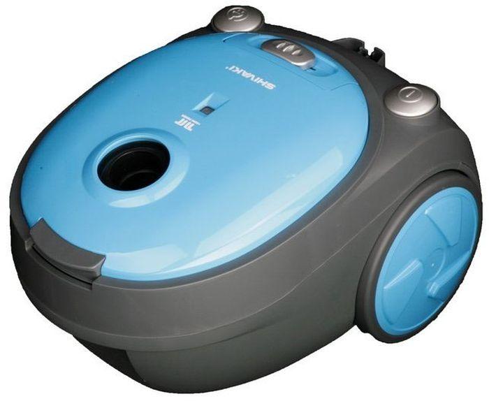 Shivaki SVC-1438SKY, Blue пылесосSVC-1438SKYПылесос Shivaki SVC-1438SKY мощностью 1400Вт и c мешком для сбора пыли. Прибор имеет 4-х ступенчатую систему фильтрации и обеспечит деликатную и тщательную уборку. Пылесос оснащен регулятором мощности на корпусе, с возможностью вертикальной парковки.