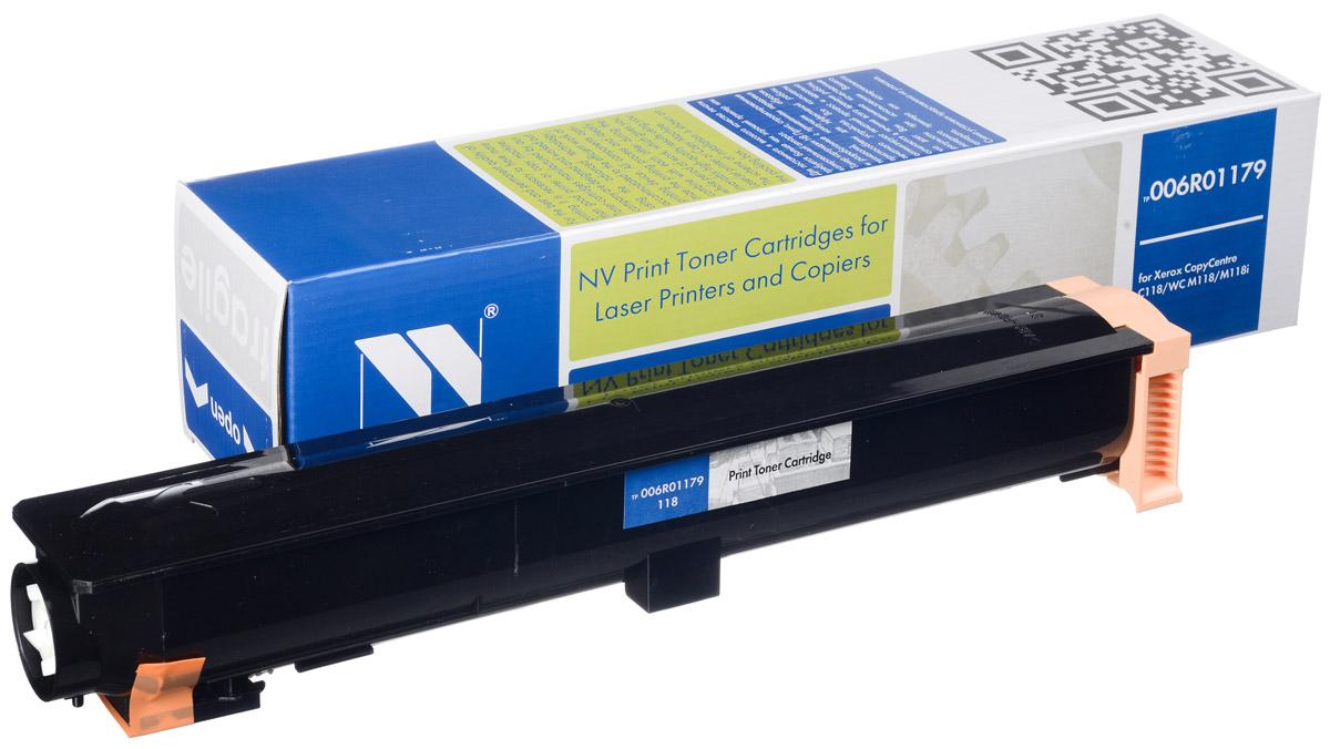 NV Print 006R01179, Black тонер-картридж для Xerox WC C118/M118/M118iNV-006R01179Совместимый лазерный картридж NV Print 006R01179 для печатающих устройств Xerox WC - это альтернатива приобретению оригинальных расходных материалов. При этом качество печати остается высоким. Картридж обеспечивает повышенную чёткость чёрного текста и плавность переходов оттенков серого цвета и полутонов, позволяет отображать мельчайшие детали изображения. Лазерные принтеры, копировальные аппараты и МФУ являются более выгодными в печати, чем струйные устройства, так как лазерных картриджей хватает на значительно большее количество отпечатков, чем обычных. Для печати в данном случае используются не чернила, а тонер.