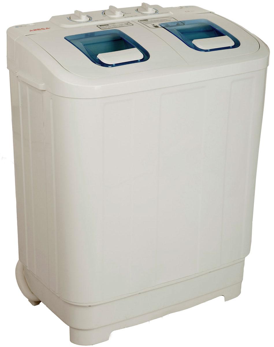 Aresa WM-250 стиральная машинаWM-250Полуавтоматическая стиральная машина Aresa WM-250 позволяет выполнять все функции автоматической, только требует переложить белье из бака стирки в бак отжима. Материал корпуса - первичный полипропилен, что позволяет корпусу стиральной машины служить действительно долго и без проблем переносить перепады температур, в том числе и суровые морозы. При производстве использовались двигатели только со 100% медной обмоткой. Данная модель не требует подключения к центральному водоснабжению и канализации. Мощность двигателя стирки: 285 Вт Мощность двигателя отжима: 130 Вт
