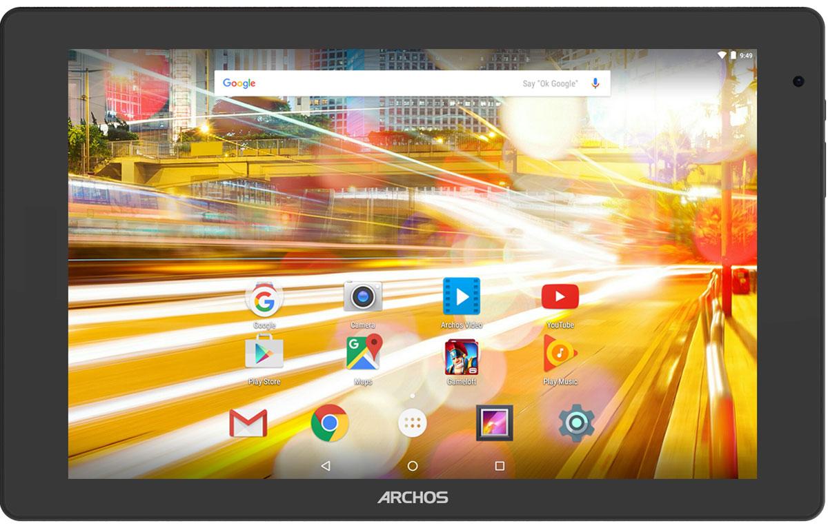 Archos 101B Oxygen101B OXYGENArchos 101B Oxygen - идеальный мультимедиа-планшет. Благодаря 10,1-дюймовому экрану с разрешением Full HD, вы получите настоящее удовольствие от просмотра фильмов и сериалов. Видео становится действительно живым! Мощный 4-ядерный процессор в Archos 101B Oxygen позволит работать с любыми приложениями максимально комфортно, не жертвуя производительностью или временем работы батареи. Работающий на платформе Android 6.0 Marshmallow Archos 101B Oxygen получил обновленный интерфейс пользователя, ставший еще более удобным и интуитивным. Marshmallow также предоставляет новые функции, такие как Google Now on Tap и многие другие. Этот планшет отражает в дизайне новейшие тренды в мире электроники. Он оптимально подходит для ежедневного использования и отличается элегантным внешним видом, что подчеркивает алюминиевый корпус. Куда бы вы ни отправились, обе камеры Archos 101B Oxygen помогут запечатлеть памятные моменты и быть ...